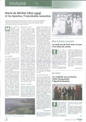 article Ami Marie de Miribel